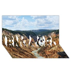 YELLOWSTONE GC ENGAGED 3D Greeting Card (8x4)