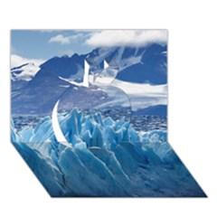 UPSALA GLACIER Apple 3D Greeting Card (7x5)