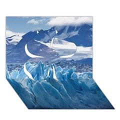 UPSALA GLACIER Clover 3D Greeting Card (7x5)