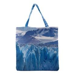 UPSALA GLACIER Grocery Tote Bags