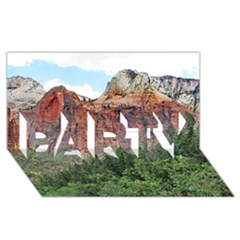 UPPER EMERALD TRAIL PARTY 3D Greeting Card (8x4)