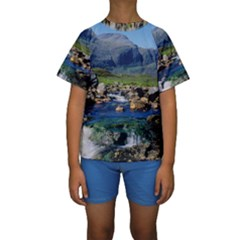 THE CLISHAM Kid s Short Sleeve Swimwear