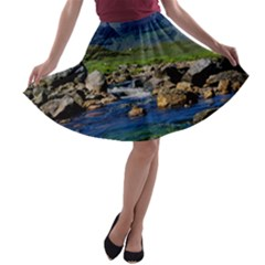 The Clisham A Line Skater Skirt