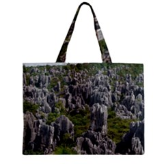 STONE FOREST 1 Zipper Tiny Tote Bags