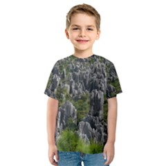 STONE FOREST 1 Kid s Sport Mesh Tees