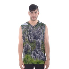 Stone Forest 1 Men s Basketball Tank Top
