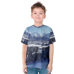 SNOWY MOUNTAINS Kid s Cotton Tee
