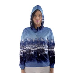 SNOWY MOUNTAINS Hooded Wind Breaker (Women)
