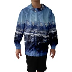 SNOWY MOUNTAINS Hooded Wind Breaker (Kids)