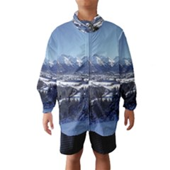 SNOWY MOUNTAINS Wind Breaker (Kids)