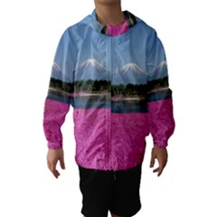 SHIBAZAKURA Hooded Wind Breaker (Kids)