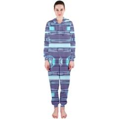 Modern Pattern Factory 01 Hooded Jumpsuit (Ladies)