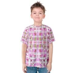 Modern Pattern Factory 01 Kid s Cotton Tee