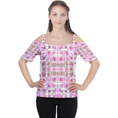 Modern Pattern Factory 01 Women s Cutout Shoulder Tee