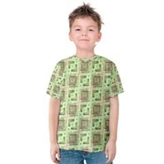 Modern Pattern Factory 04 Kid s Cotton Tee
