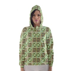 Modern Pattern Factory 04 Hooded Wind Breaker (Women)