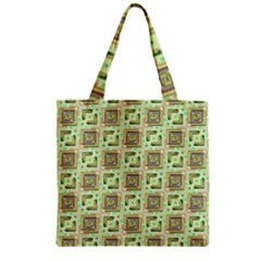 Modern Pattern Factory 04 Zipper Grocery Tote Bags