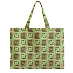 Modern Pattern Factory 04 Zipper Tiny Tote Bags