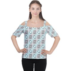 Modern Pattern Factory 04b Women s Cutout Shoulder Tee