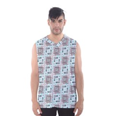 Modern Pattern Factory 04b Men s Basketball Tank Top