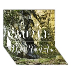 MOUNTAIN PATH YOU ARE INVITED 3D Greeting Card (7x5)