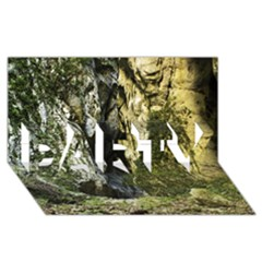 MOUNTAIN PATH PARTY 3D Greeting Card (8x4)