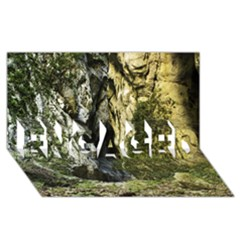 MOUNTAIN PATH ENGAGED 3D Greeting Card (8x4)