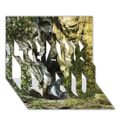 MOUNTAIN PATH THANK YOU 3D Greeting Card (7x5)