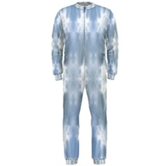 Ice Crystals Abstract Pattern OnePiece Jumpsuit (Men)