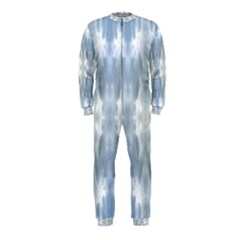 Ice Crystals Abstract Pattern OnePiece Jumpsuit (Kids)