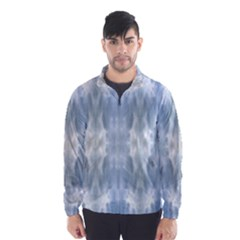 Ice Crystals Abstract Pattern Wind Breaker (Men)