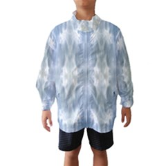 Ice Crystals Abstract Pattern Wind Breaker (kids)