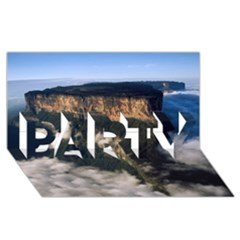 MOUNT RORAIMA 2 PARTY 3D Greeting Card (8x4)