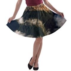 MOUNT RORAIMA 2 A-line Skater Skirt