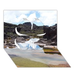 Mount Roraima 1 Clover 3d Greeting Card (7x5)