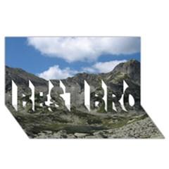 LAKELET BEST BRO 3D Greeting Card (8x4)