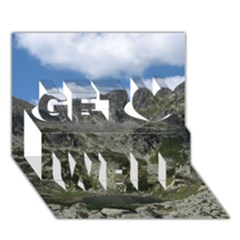 LAKELET Get Well 3D Greeting Card (7x5)