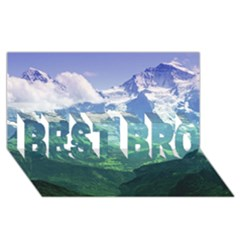 LAGHI DI FUSINE BEST BRO 3D Greeting Card (8x4)