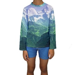 LAGHI DI FUSINE Kid s Long Sleeve Swimwear