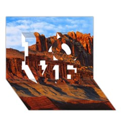 GRAND CANYON 3 LOVE 3D Greeting Card (7x5)