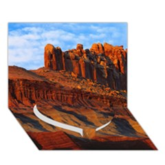 GRAND CANYON 3 Heart Bottom 3D Greeting Card (7x5)