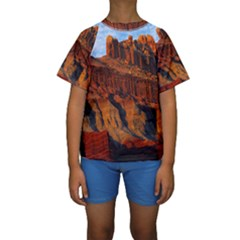 GRAND CANYON 3 Kid s Short Sleeve Swimwear