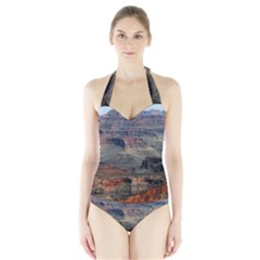 GRAND CANYON 2 Women s Halter One Piece Swimsuit