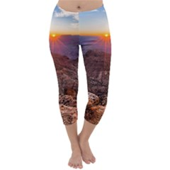 Grand Canyon 1 Capri Winter Leggings