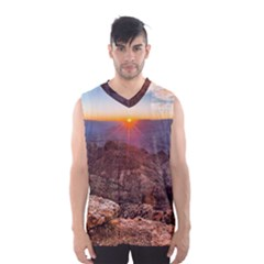 Grand Canyon 1 Men s Basketball Tank Top