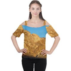 DEATH VALLEY Women s Cutout Shoulder Tee