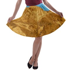 DEATH VALLEY A-line Skater Skirt
