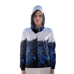CROAGHAUN CLIFFS Hooded Wind Breaker (Women)