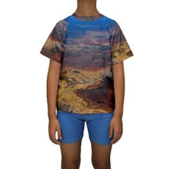 CHAPADA DIAMANTINA 3 Kid s Short Sleeve Swimwear