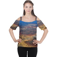 CHAPADA DIAMANTINA 3 Women s Cutout Shoulder Tee